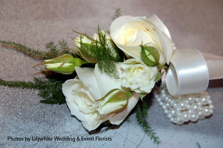 Lilywhite Flowers Wedding Mother Of The Bride Corsage